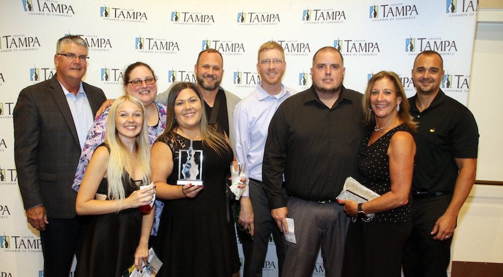 Atlas Wins Small Business of the Year Award Group photo