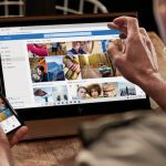 onedrive for business features photo of laptop and phone screen